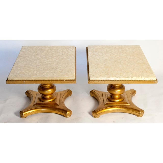Hollywood Regency Accent Tables - Pair - Image 2 of 6