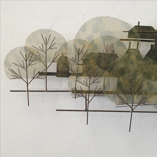 Curtis Jere Metal Wall Sculpture - Image 4 of 7