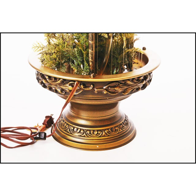 Mid Century Hollywood Regency Mineral Oil Rain Lamp - Image 11 of 11