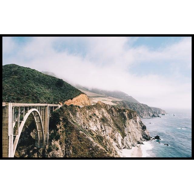 "2010s Original ""Bixby Bridge"" Framed 16x20 Photograph For Sale - Image 5 of 6"
