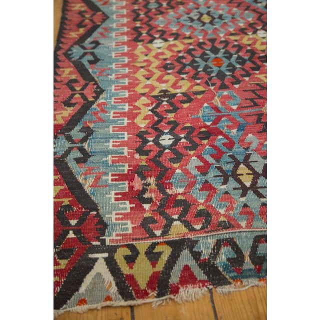 "Antique Kilim Carpet - 6'1"" x 9'1"" For Sale - Image 10 of 10"