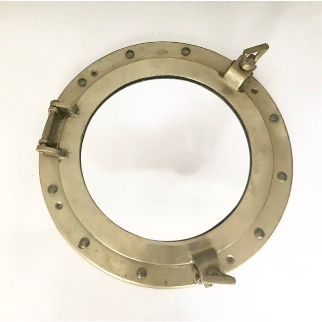 Brass Nautical Porthole Mirror - Image 2 of 4
