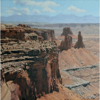 """Garrett Middaugh """"Canyonlands"""" Oil Painting For Sale"""