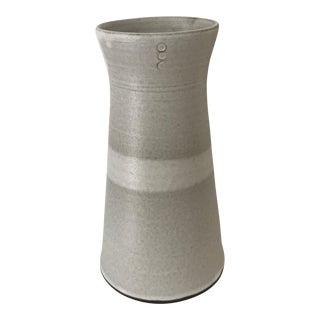 Eric Bonnin Oatmeal Vase For Sale