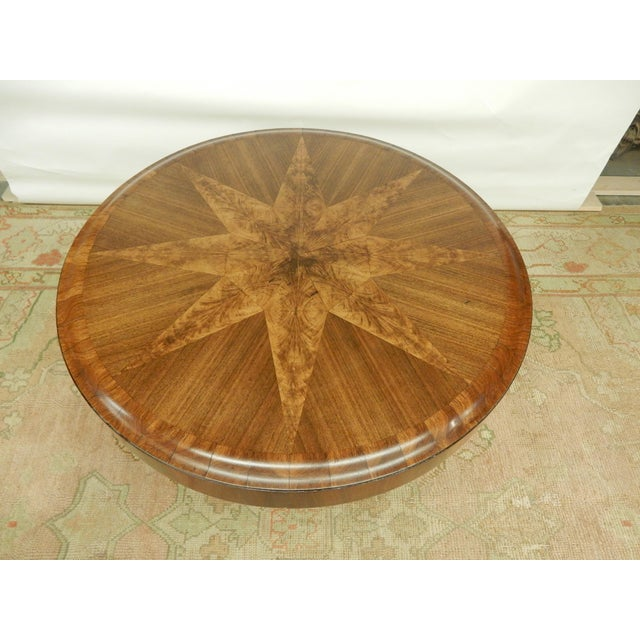 Art Deco Unusual Inlaid Art Deco Table For Sale - Image 3 of 7