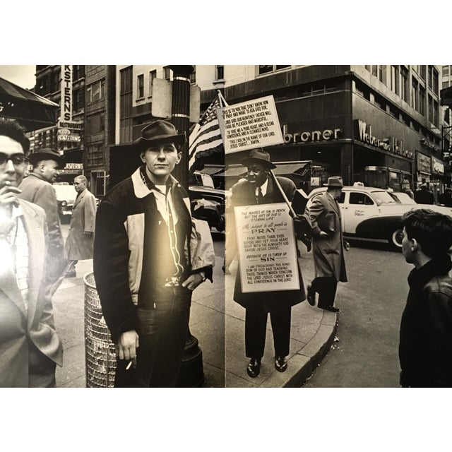 """William Klein """"New York"""" 1954-1955 Coffee Table Photography Art Book For Sale - Image 9 of 13"""