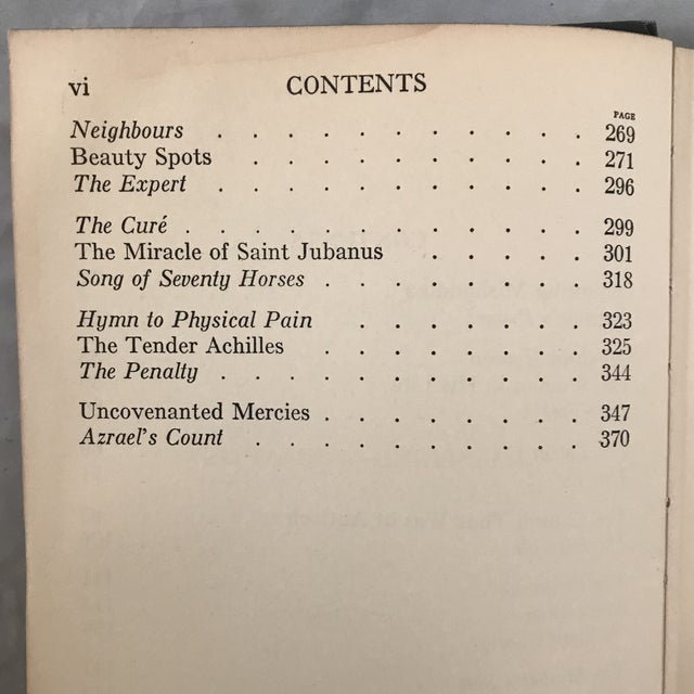 """1930s 1932 """"Limits and Renewals"""" First Edition Rudyard Kipling Book For Sale - Image 5 of 6"""