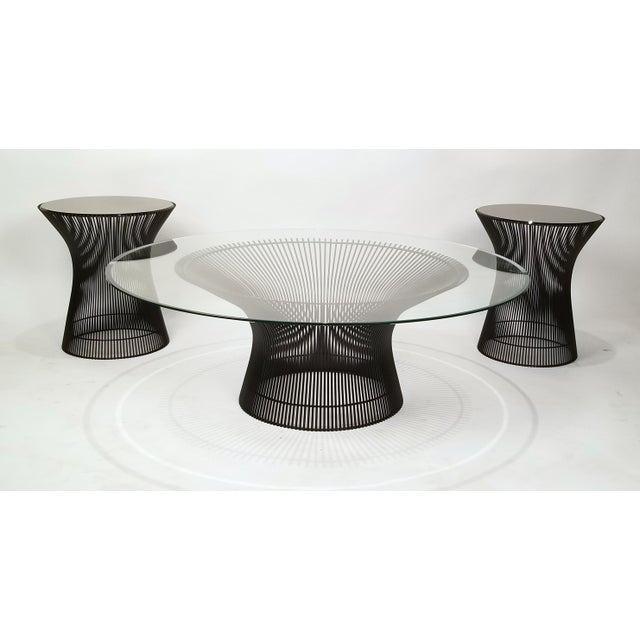 Gold Early Bronze Side Tables by Warren Platner for Knoll, 1966 - a Pair For Sale - Image 8 of 9