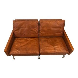 1970s Vintage Poul Kjærholm Leather Bench For Sale