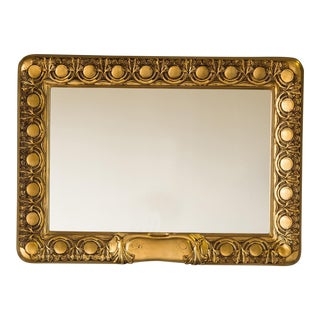 19th Century Austrian Art Nouveau Period Giltwood Framed Mirror For Sale