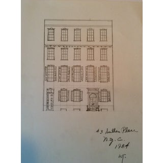 Sutton Place Architectural Rendering From 1984 For Sale