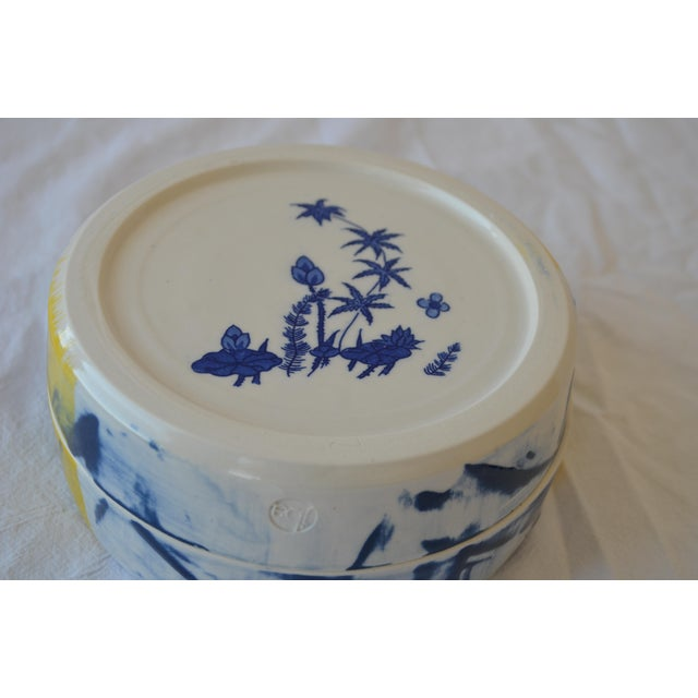 Contemporary Ceramic Green Dragon Box For Sale - Image 4 of 5