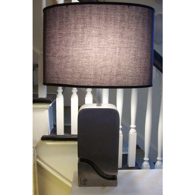 Mid-Century Modern Pierre Cardin Table Lamp (Signed) For Sale - Image 3 of 5
