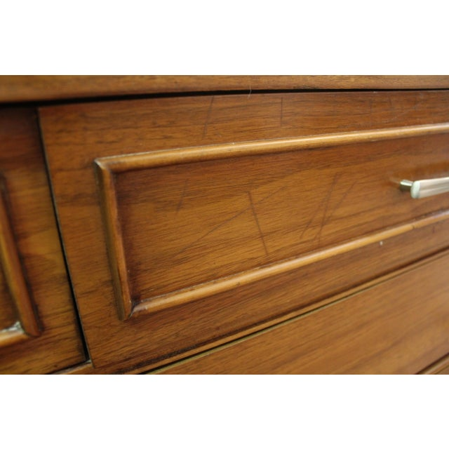 Mid-Century Danish Modern Walnut Credenza For Sale - Image 10 of 11