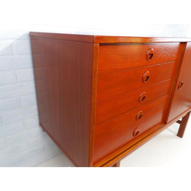 Folke Ohlsson for Dux Sweden Mid Century Modern Sideboard For Sale In Sacramento - Image 6 of 13