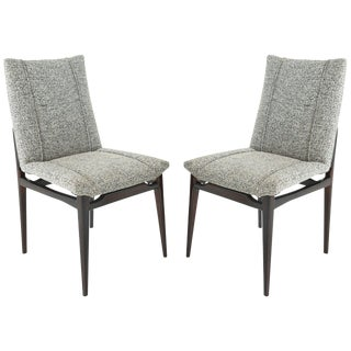 Mid-Century Modern Brazilian Side Chairs - a Pair