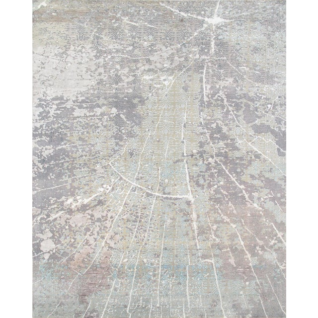 "Pasargad Transitional Silk/Wool Rug - 8' x 10' 2"" - Image 1 of 5"