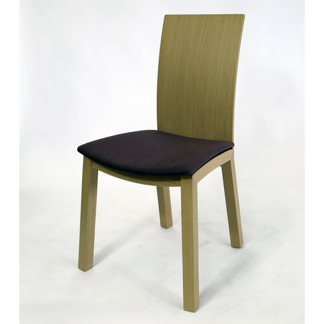Contemporary Idealsedia Italian Made Post Modern Side Chairs - a Pair For Sale - Image 3 of 13