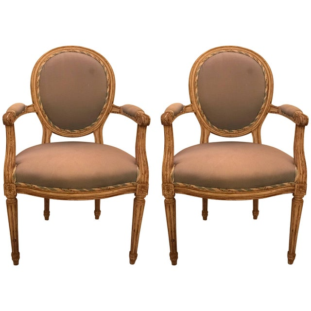 1950s French Maison Jansen Classic Balloon Armchairs - a Pair For Sale - Image 11 of 11