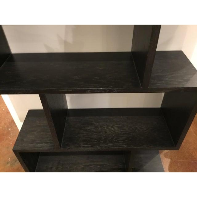 Arteriors Home Arteriors Modern Horner Sable Brown Finished Wood Bookshelf For Sale - Image 4 of 5