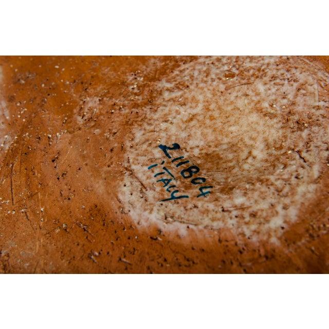Mid-Century Dolfi Glazed Ceramic Planter For Sale - Image 4 of 5
