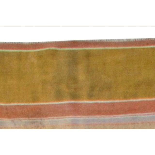 Vintage Indian Dhurrie Runner For Sale - Image 4 of 7