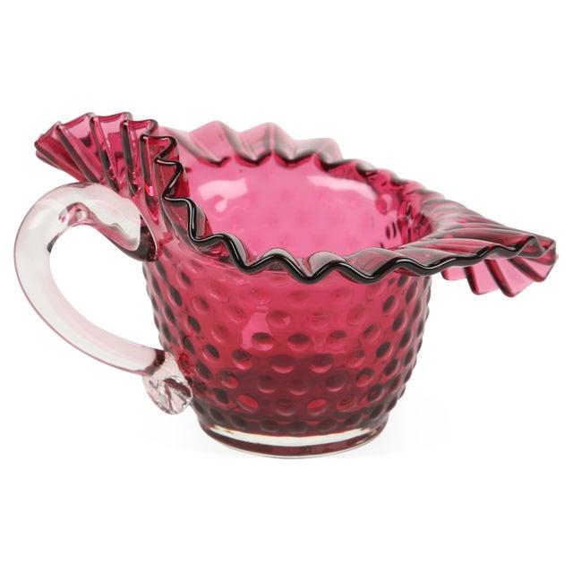 Murano Glass Basket For Sale
