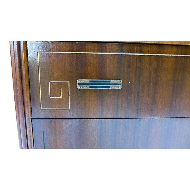 French Art Deco Style Apartment Size Dresser - Image 8 of 9