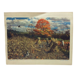 "1930s Vintage A. Lassell Ripley ""A Perfect Day"" Color Print For Sale"