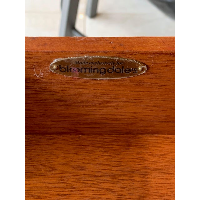 Brown Japanoise Bloomingdale's Bamboo Writing Desk For Sale - Image 8 of 11