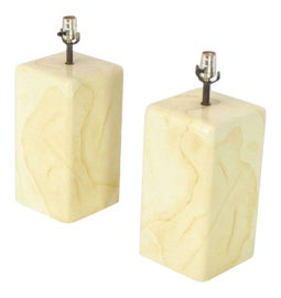 Image of Parchment Table Lamps