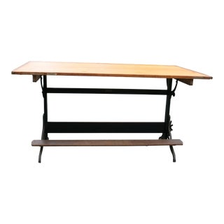 Industrial Hamilton Champion Drafting Table No. 113 Drawing Board For Sale