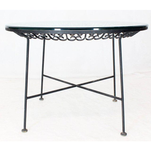 1970s Mid-Century Modern Outdoor Dining Set - 7 Pieces For Sale - Image 9 of 10