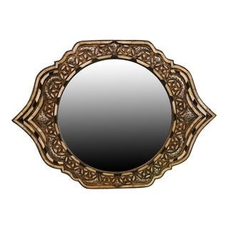 Marrakech Eye Shape Inlaiy Mirror For Sale