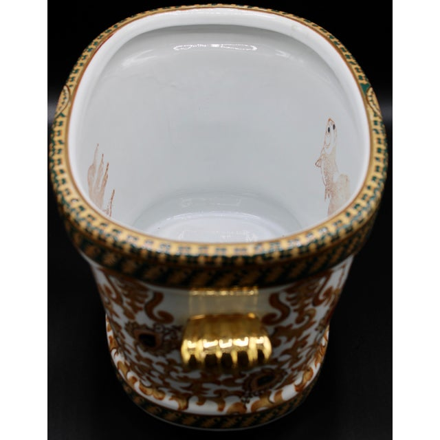 1970s Chinese Porcelain Foot Bath For Sale - Image 4 of 10