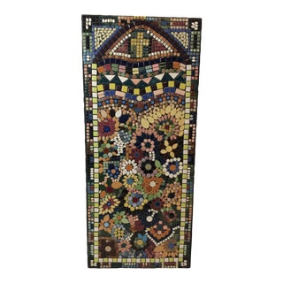 1970s Mid-Century Mosaic Tile Wall Art For Sale