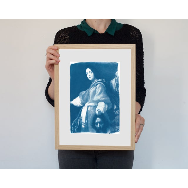 Painting of Judith Cyanotype Print - Image 3 of 5