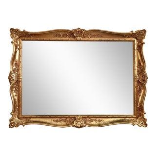 Louis XVI French Gilt Mirror