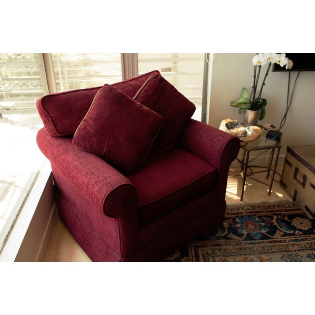 upholstery cachedelizette allegro pinterest taupe chair comfy chairs overstuffed on images best deep