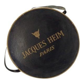 Jacques Heim Paris French Haute Couture Hat Box