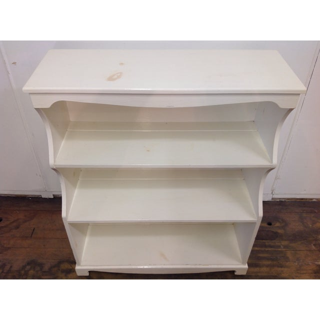 White Painted Pine Bookshelf - Image 2 of 9