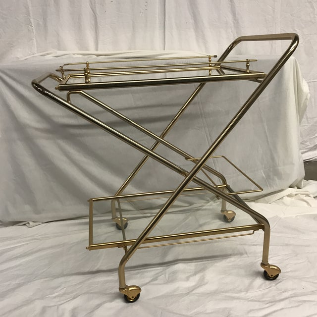 Mid-Century French Bar Cart - Image 3 of 8