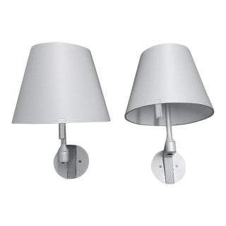 Melampo Contemporary Wall Sconces - A Pair For Sale
