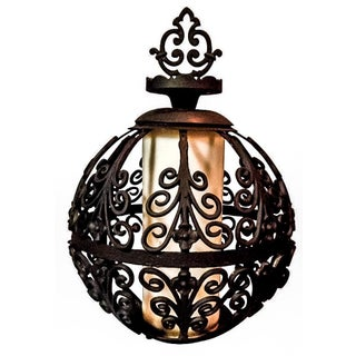 Feldman Iron Globe Pendant Light For Sale
