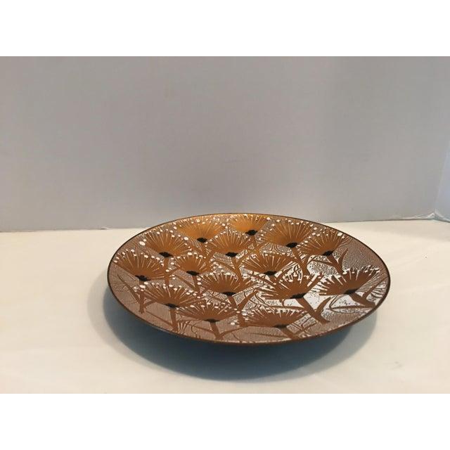 Francoise Desrochers-Drolet Enameled Plate For Sale - Image 4 of 5