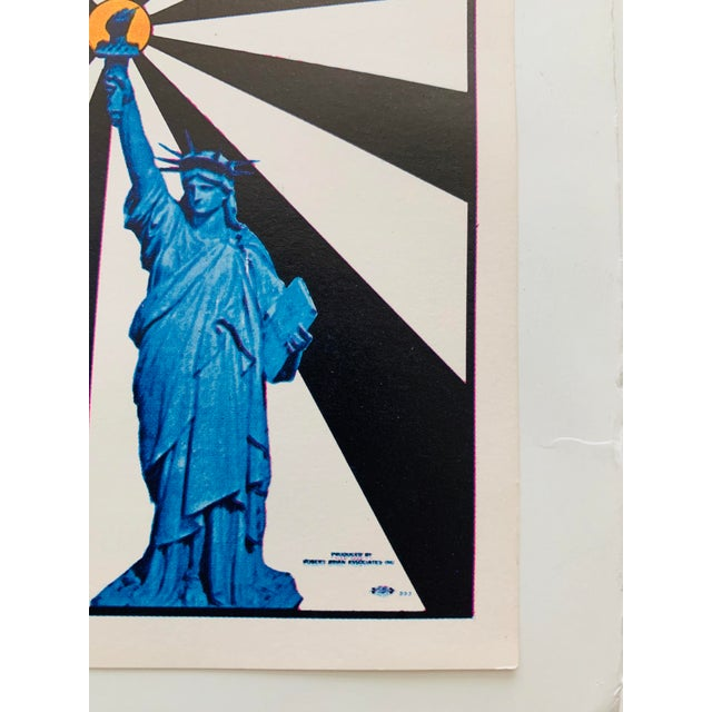 Contemporary Peter Max Iconic New York City Images Print For Sale - Image 3 of 10