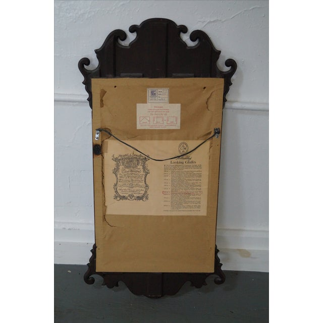 Friedman Brothers Colonial Williamsburg Mirror For Sale In Philadelphia - Image 6 of 7