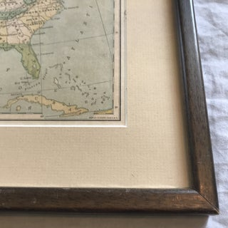 Early 20th Century Framed United States Map Preview