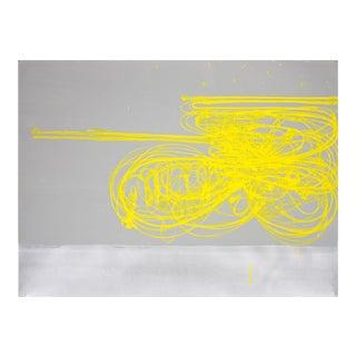 "Jill Moser ""3.22"" Gouache Painting For Sale"