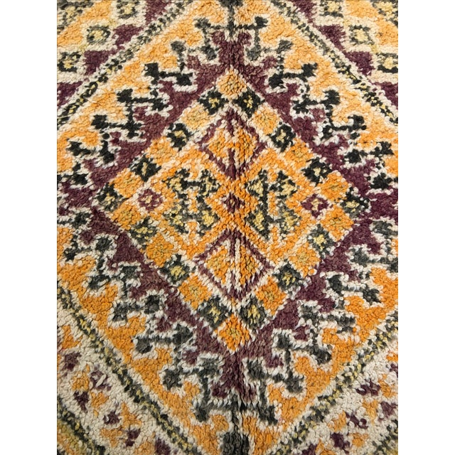 "Bellwether Rugs Mid-Century Beni Orin Moroccan Rug - 6'7"" X 10'9"" - Image 4 of 7"